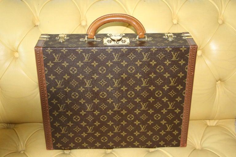 Women's or Men's Louis Vuitton Monogramm Briefcase, Louis Vuitton President Case For Sale