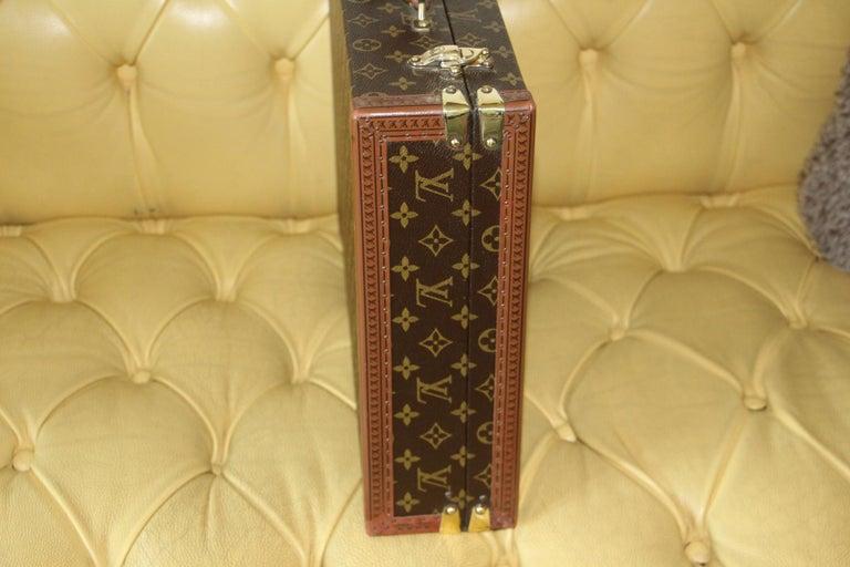 Louis Vuitton Monogramm Briefcase, Louis Vuitton President Case For Sale 1