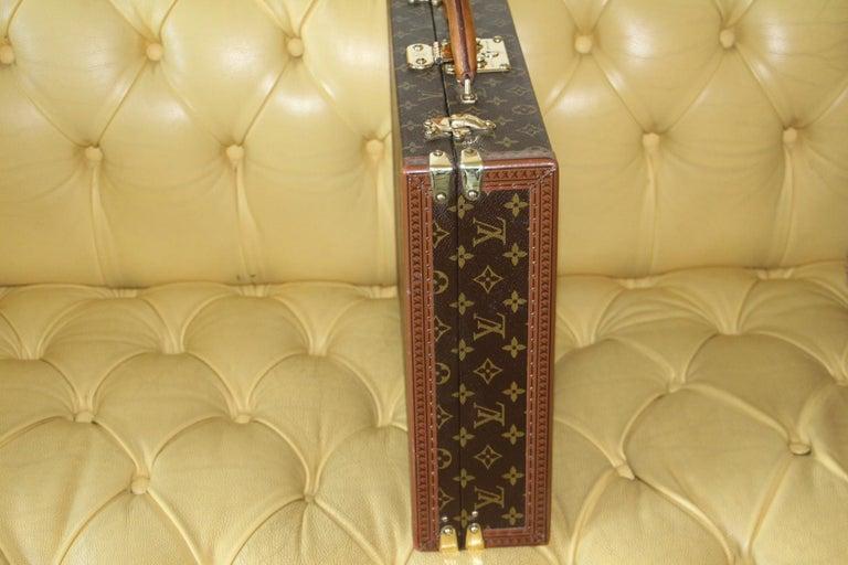 Louis Vuitton Monogramm Briefcase, Louis Vuitton President Case For Sale 3