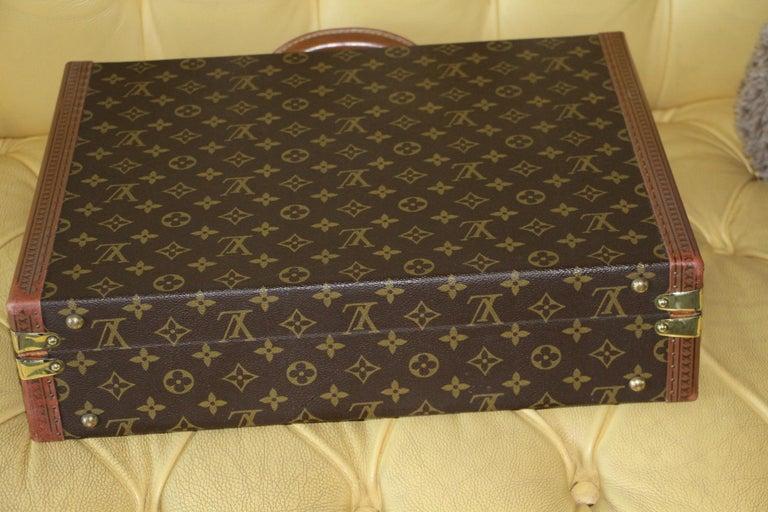 Louis Vuitton Monogramm Briefcase, Louis Vuitton President Case For Sale 4