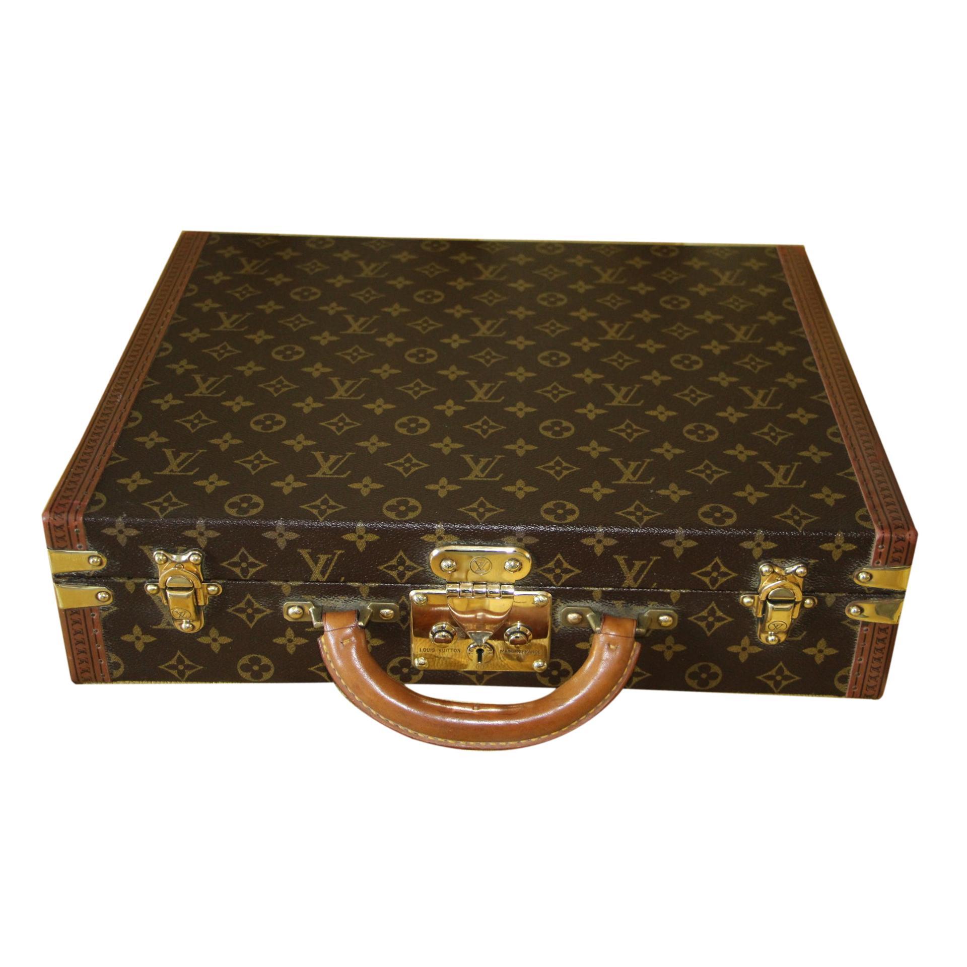 Louis Vuitton Monogramm Briefcase, Louis Vuitton President Case