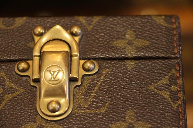 Louis Vuitton Monogramm Briefcase, Louis Vuitton Attache Case In Excellent Condition For Sale In Saint-Ouen, FR