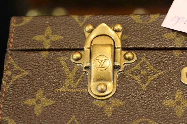 Late 20th Century Louis Vuitton Monogramm Briefcase, Louis Vuitton Attache Case For Sale