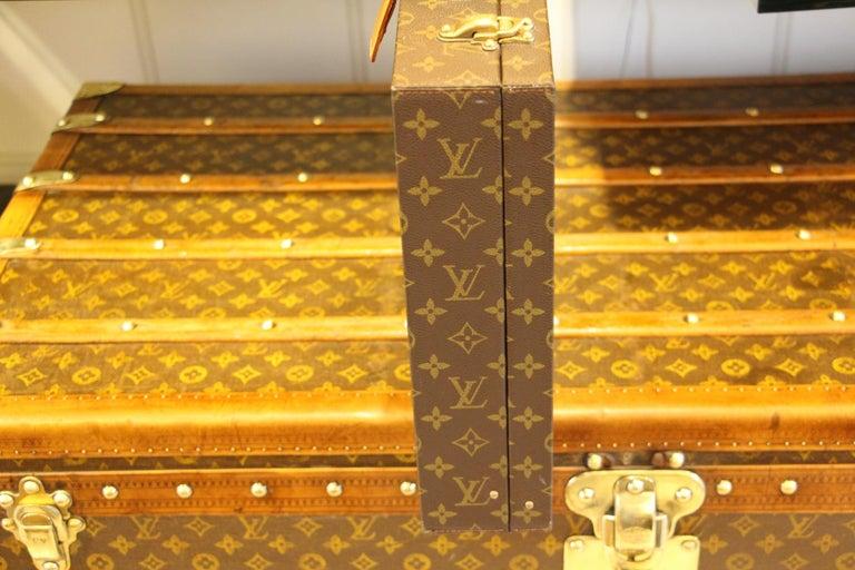 Louis Vuitton Monogramm Briefcase, Louis Vuitton Attache Case For Sale 2