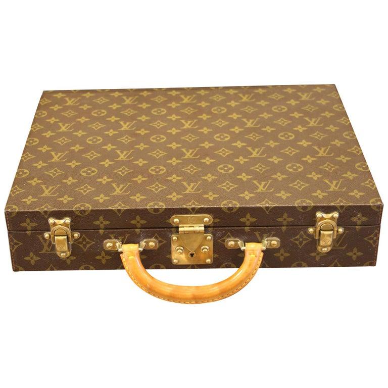 Louis Vuitton Monogramm Briefcase, Louis Vuitton Attache Case For Sale