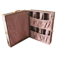 Louis Vuitton Monogramm Shoe Trunk, Louis Vuitton Shoe Case, Louis Vuitton Trunk