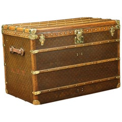 Louis Vuitton Monogrammed Steamer Trunk
