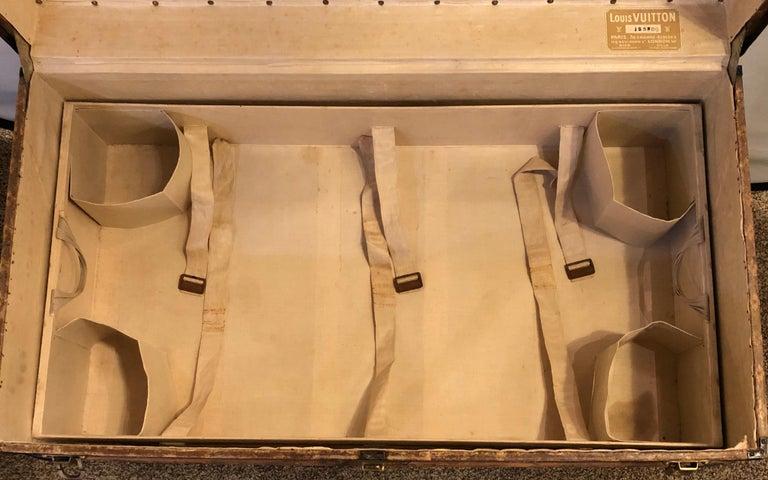 Louis Vuitton Monograph Steamer Trunk For Sale 12