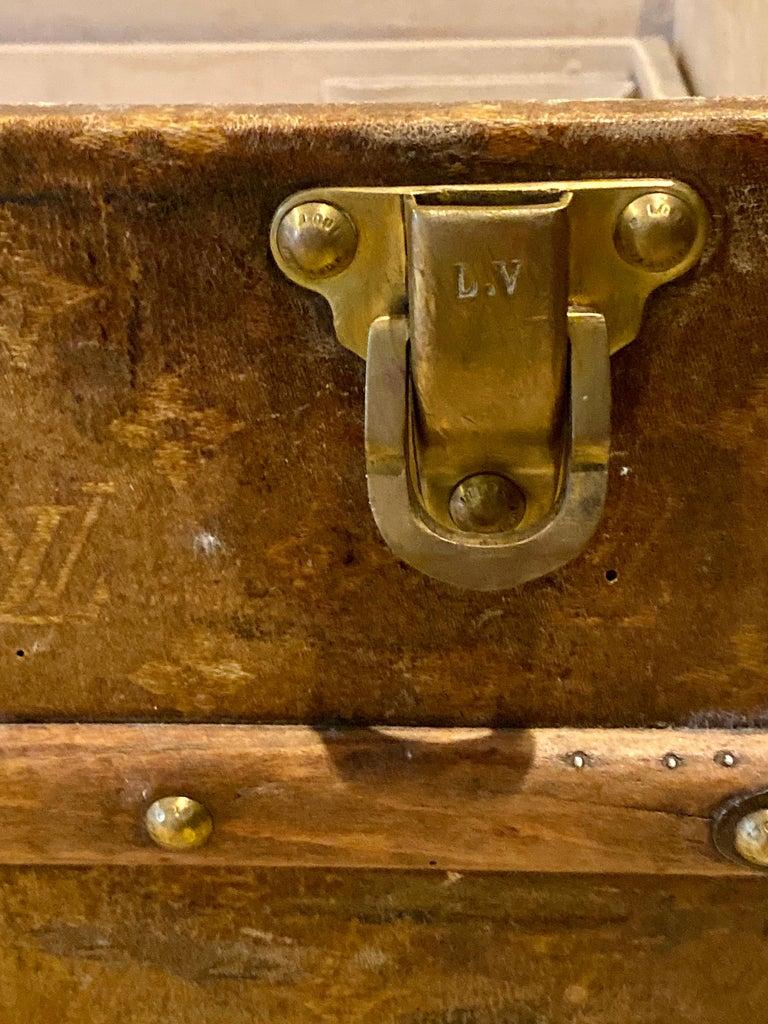Louis Vuitton Monograph Steamer Trunk For Sale 2