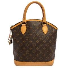 Louis Vuitton Monorgram Canvas Lockit PM Bag