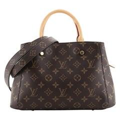 Louis Vuitton Montaigne Handbag Monogram Canvas BB