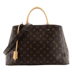 Louis Vuitton Montaigne Handbag Monogram Canvas GM