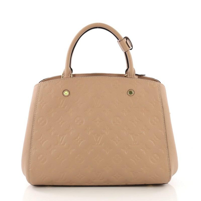 16e7ef274dc0 Louis Vuitton Montaigne Handbag Monogram Empreinte Leather MM For Sale at  1stdibs