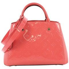 Louis Vuitton Montaigne Handbag Monogram Vernis BB