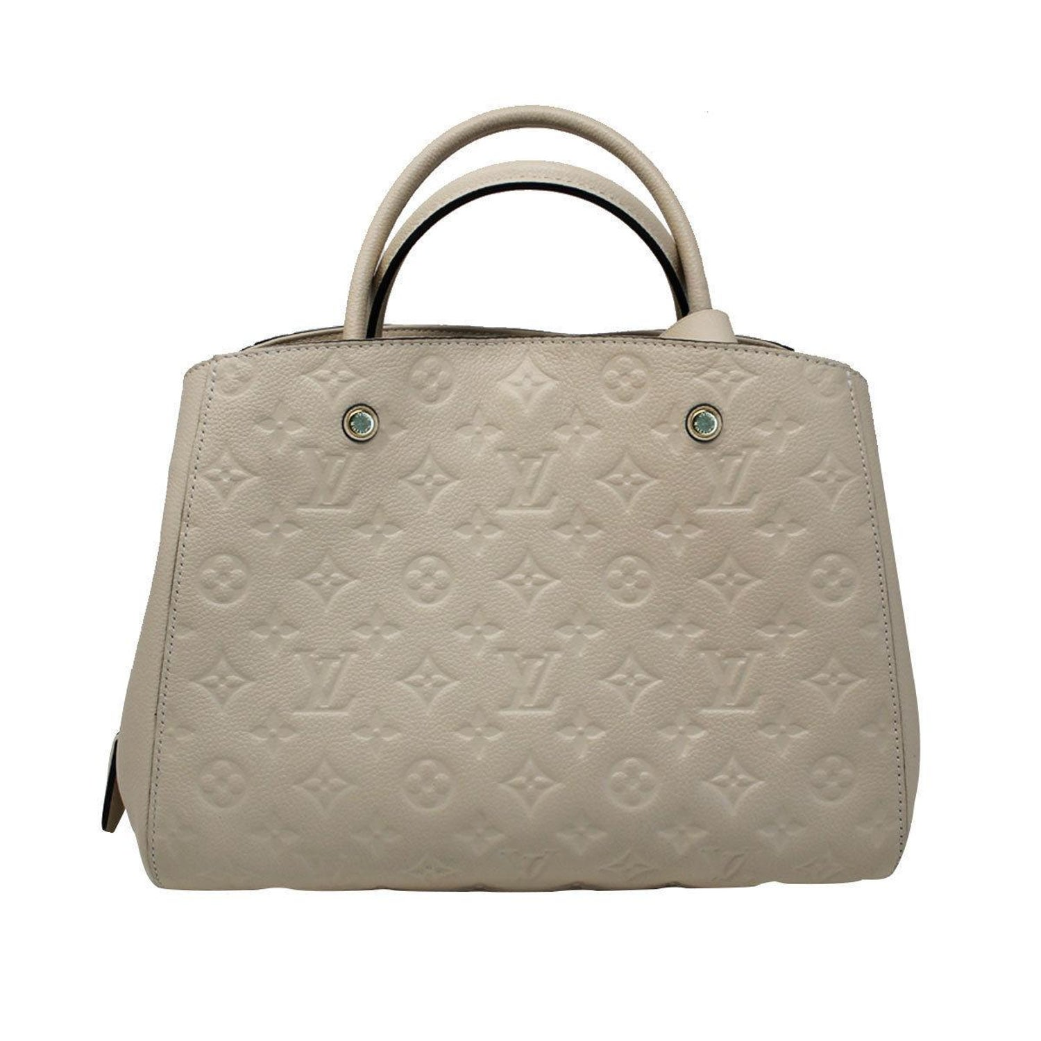 05f4a7c07db2 Louis Vuitton Montaigne Neige Empreinte Handbag With Dust Bag For Sale at  1stdibs