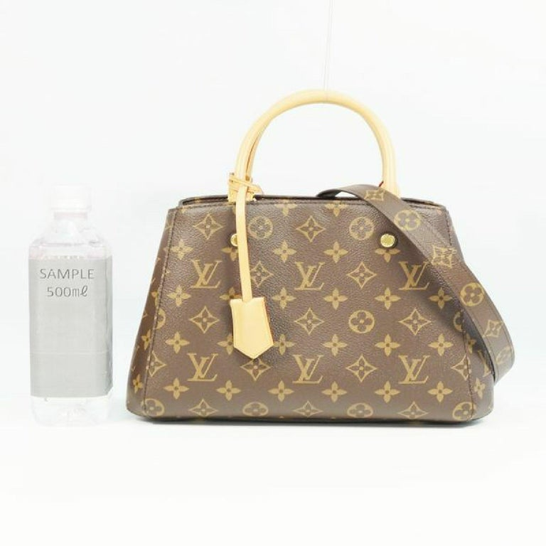 LOUIS VUITTON MontaigneBB Womens handbag M41055 For Sale 9