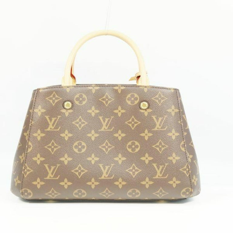 LOUIS VUITTON MontaigneBB Womens handbag M41055 In Excellent Condition For Sale In Takamatsu-shi, JP