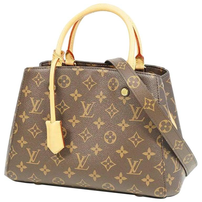 LOUIS VUITTON MontaigneBB Womens handbag M41055 For Sale