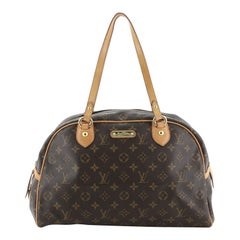 Louis Vuitton Montorgueil Handbag Monogram Canvas GM