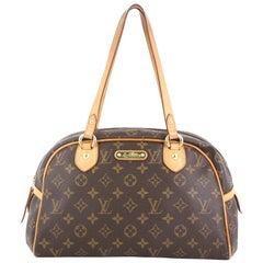 Louis Vuitton Montorgueil Handbag Monogram Canvas PM