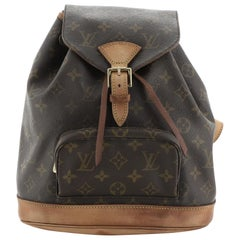 Louis Vuitton Montsouris Backpack Monogram Canvas MM
