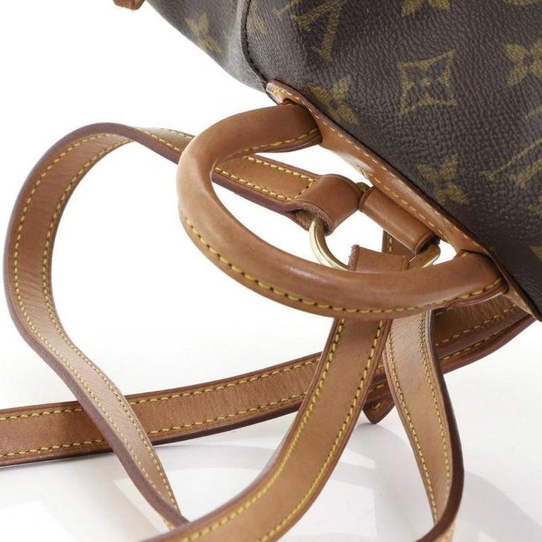 Louis Vuitton Montsouris Backpack Monogram Canvas PM For Sale 4