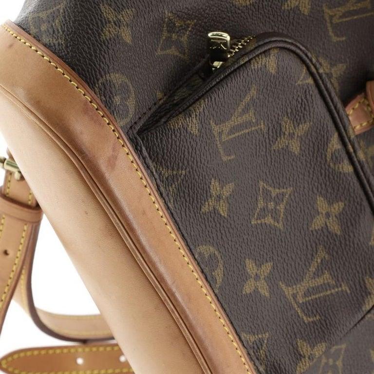 Louis Vuitton Montsouris Backpack Monogram Canvas PM For Sale 5