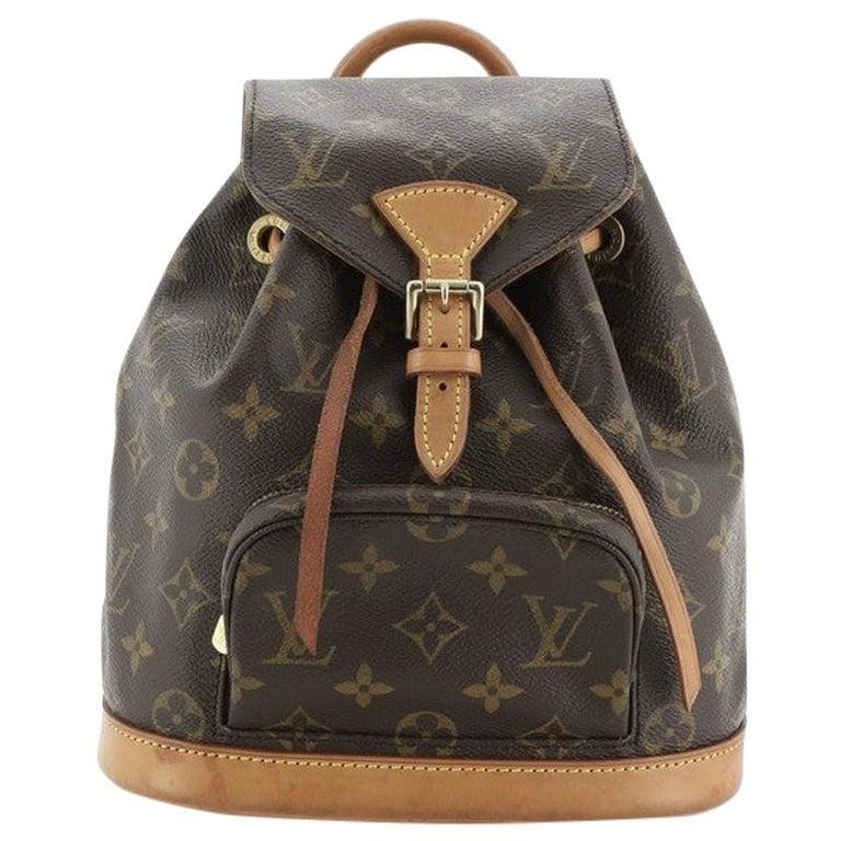 Louis Vuitton Montsouris Backpack Monogram Canvas PM For Sale
