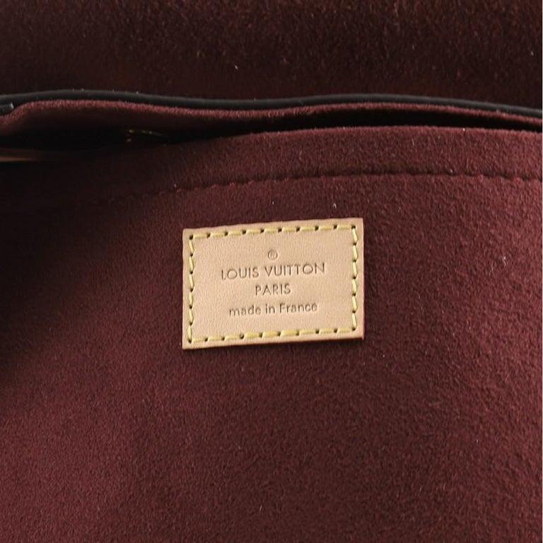 Louis Vuitton Montsouris Backpack NM Monogram Canvas For Sale 3