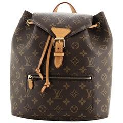 Louis Vuitton Montsouris Backpack NM Monogram Canvas