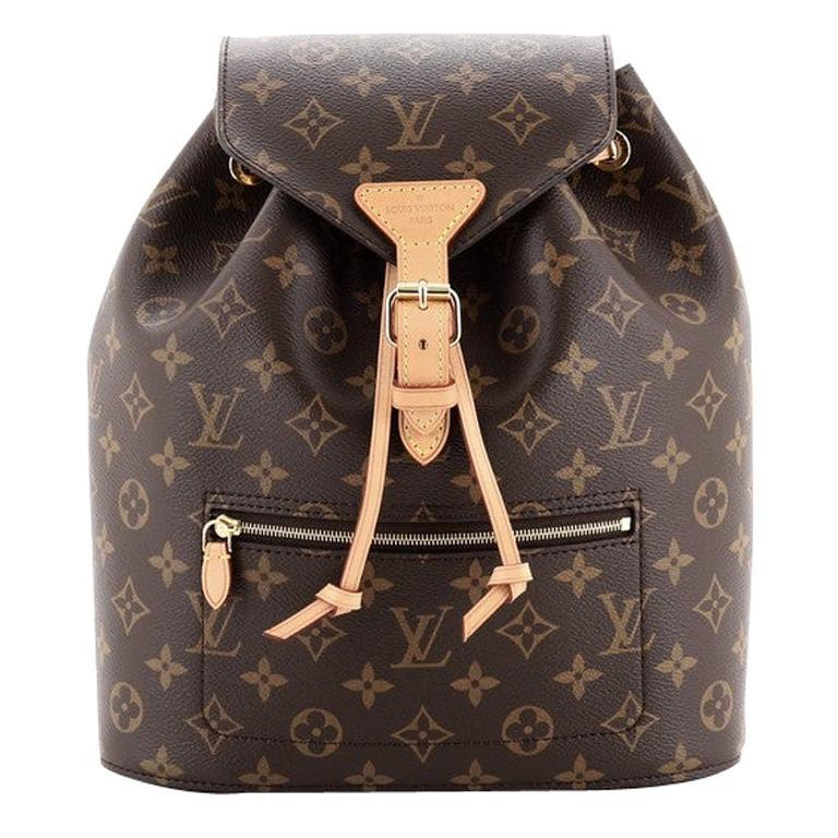 Louis Vuitton Montsouris Backpack NM Monogram Canvas For Sale