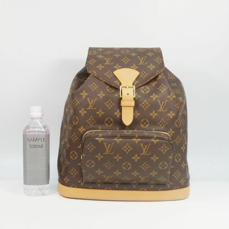 LOUIS VUITTON Montsouris GM Womens ruck sack Daypack M51135 For Sale 11