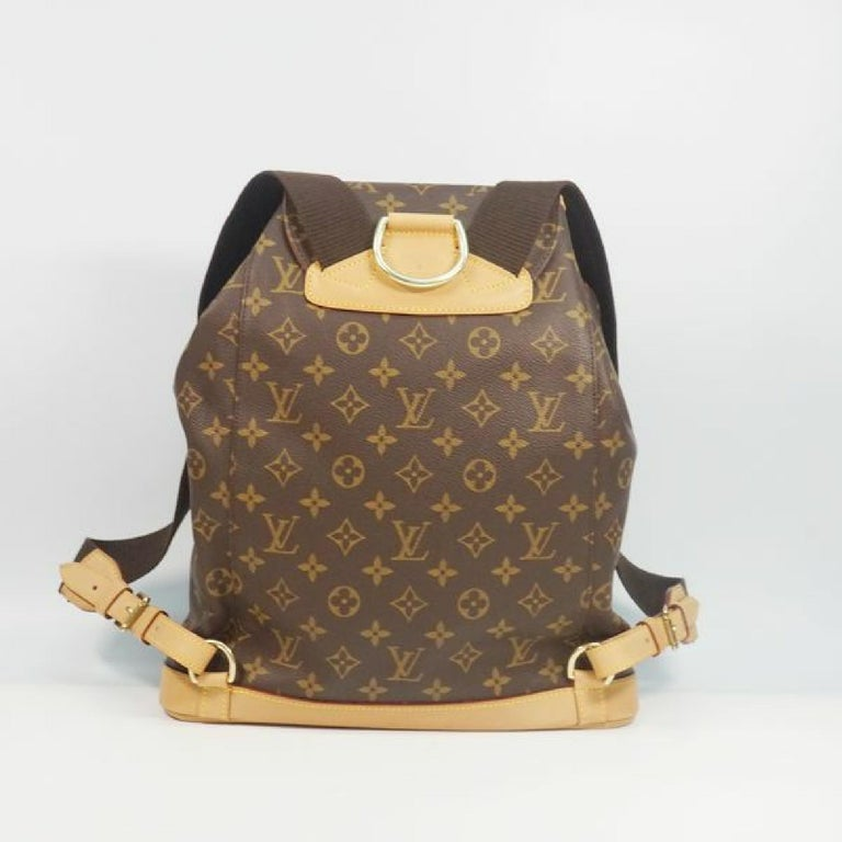 LOUIS VUITTON Montsouris GM Womens ruck sack Daypack M51135 In Excellent Condition For Sale In Takamatsu-shi, JP