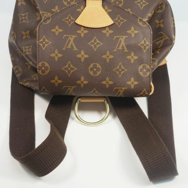 LOUIS VUITTON Montsouris GM Womens ruck sack Daypack M51135 For Sale 3