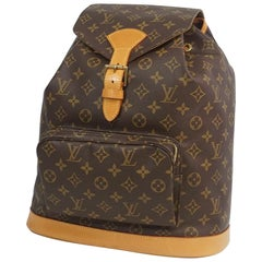 LOUIS VUITTON Montsouris GM Womens ruck sack Daypack M51135