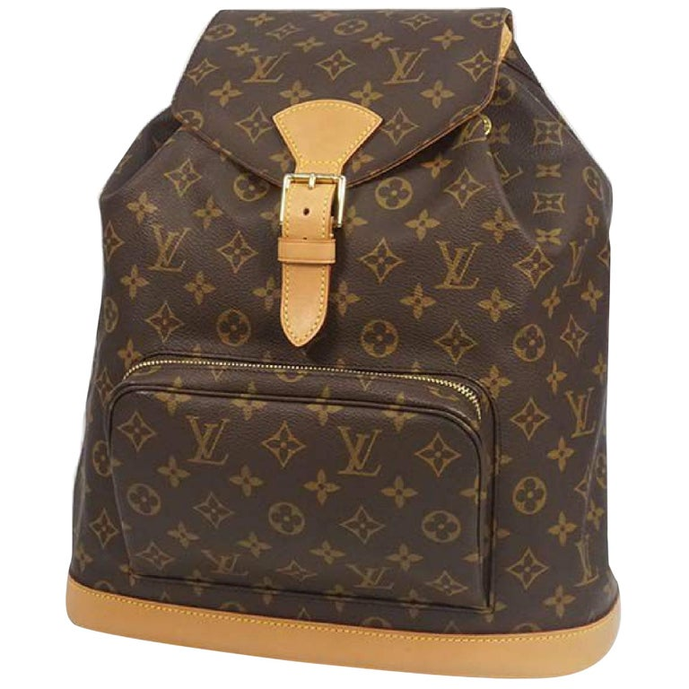 LOUIS VUITTON Montsouris GM Womens ruck sack Daypack M51135 For Sale