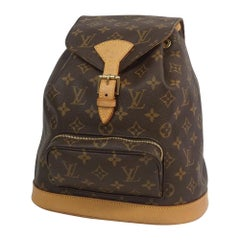 LOUIS VUITTON Montsouris MM Womens ruck sack Daypack M51136