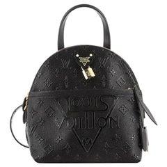 Louis Vuitton Moon Backpack Embossed Monogram Midnight Canvas