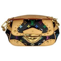 LOUIS VUITTON  Multicolor  Marilyn Black Monogram Hand Bag , Limited Edition