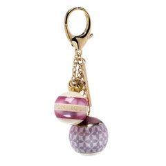 Louis Vuitton Multicolor Mini Lin Croisette Key Holder / Bag Charm