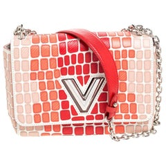 Louis Vuitton Multicolor Patchwork Epi Leather Twist MM Bag