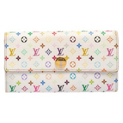 Louis Vuitton Multicolore Monogram Coated Canavas Sarah Continental Wallet