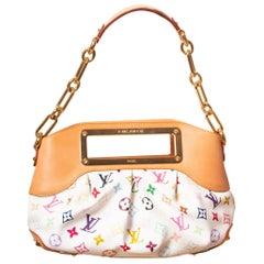 Louis Vuitton Murakami White Multicolor Monogram Judy PM Bag