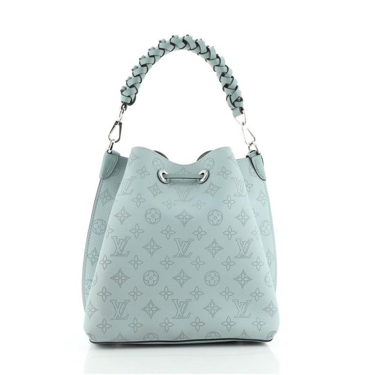 Women's or Men's Louis Vuitton Muria Bucket Bag Mahina Leather For Sale