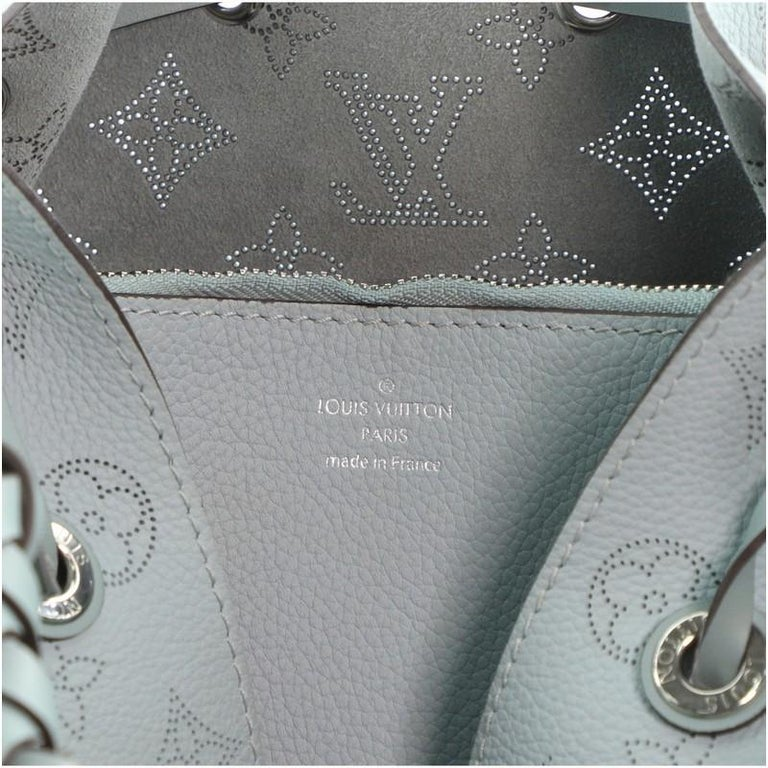 Louis Vuitton Muria Bucket Bag Mahina Leather For Sale 5