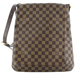 Louis Vuitton Musette Handbag Damier GM