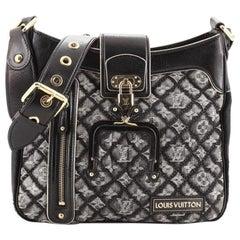 Louis Vuitton Musette Handbag Quilted Denim
