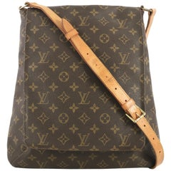 Louis Vuitton Musette Salsa Handbag Monogram Canvas GM