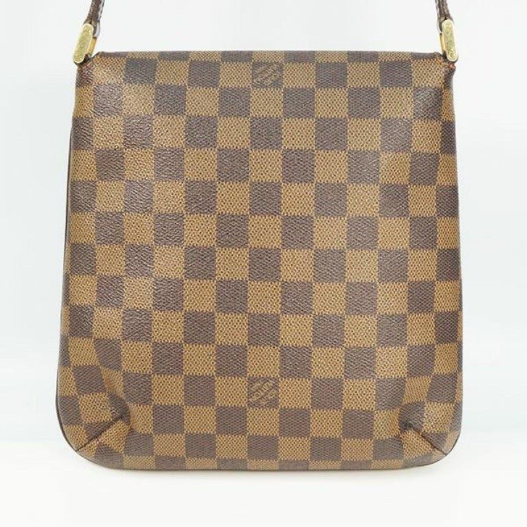 LOUIS VUITTON Musette Salsa shorts Womens shoulder bag N51260 Damier ebene In Good Condition For Sale In Takamatsu-shi, JP