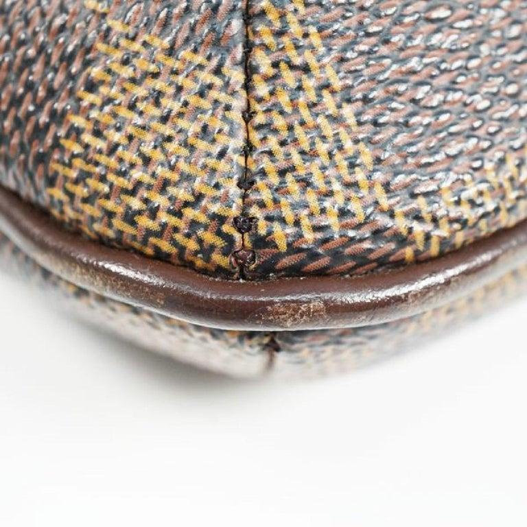 LOUIS VUITTON Musette Salsa shorts Womens shoulder bag N51260 Damier ebene For Sale 1